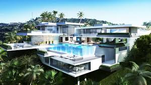 mansion design two luxury ultramodern mansions on sunset plaza drive in la