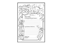 printable santa letters to santa perfect letters to santa templates printables also free printable