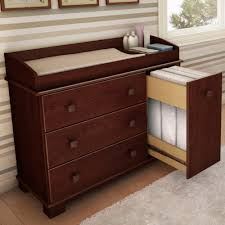 cherry changing table dresser combo cherry changing table tray top boundless table ideas cherry