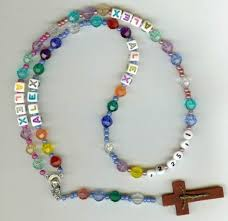 religious gift ideas colorful rosary communion gifts spiritual