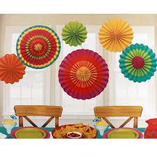paper fans candy stripes paper fan dangling decorations 6