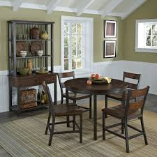 steve silver abaco 5 piece double drop leaf dining table set