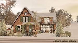 sims3 christmas cottage 聖誕小屋 ruby u0027s home design