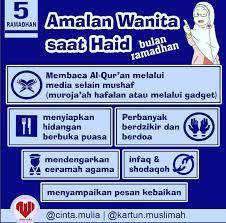 Wanita Datang Bulan Boleh Baca Quran Wanita Saat Haid Dibulan Ramadhan