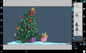 how to draw a christmas tree with picsart create discover with