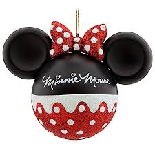 ornament mickey mouse ears minnie mouse