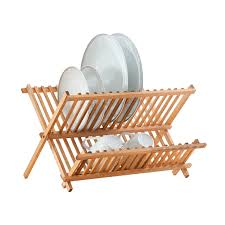 Bamboo Utensil Holder Kitchen Chic Core Bamboo Dish Rack With Utensils Holder Cool