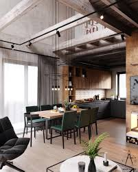 modern loft style house plans warm industrial style house with layout minsk belarus modern