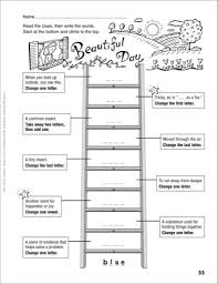 new play date word ladder grades 4 6 scholastic printables sheet