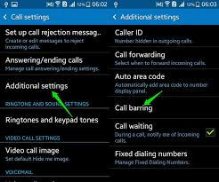 android call forwarding how to block calls numbers android ubergizmo
