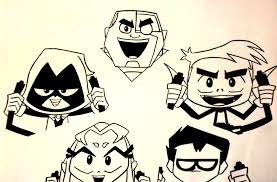 teen titans drawing lewdog17 2017 sep 28 2014