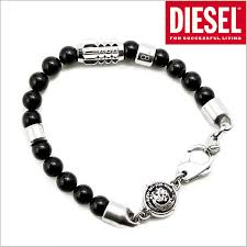 men bracelet bead images Bell field rakuten global market diesel diesel beads bracelet jpg