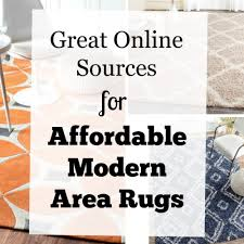 Best Modern Rugs by Best Online Sources For Affordable Modern Area Rugs