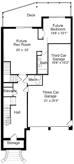 narrow lot floor plans house plans for the narrow lot by studer residential designs