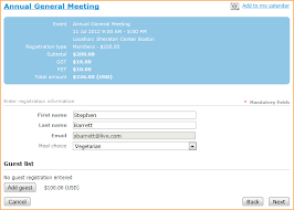 customize event registration form online help wild apricot help