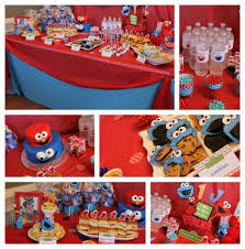 cookie monster table decorations cookie monster party picmia