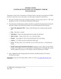 sample invitation letter for visitor visa friend usa cover
