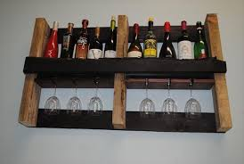 beautiful movable bar with wood pallet wine rack pallets designs