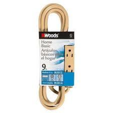 indoor outdoor light duty general purpose extension cords