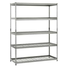 Garage Tool Organizer Rack - silver garage shelving units garage shelves u0026 racks the home