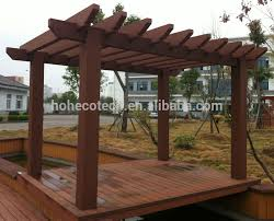 Different Types Of Pergolas by Wood Plastic Composite Gazebo Pergola Buy Wood Plastic Composite