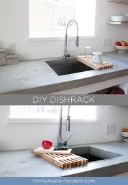 homemade modern ep93 diy dish rack