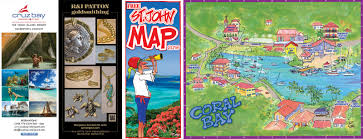 Map Of Virgin Islands Map Of Coral Bay St John Us Virgin Islands Island Treasure Maps