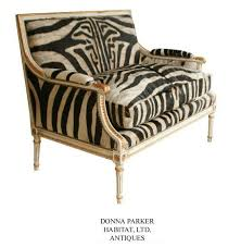 Colonial Settee Http Thefrenchchair Com Wp Content Uploads 2012 01 Zebra