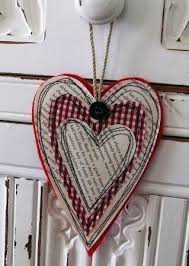 25 unique ornament ideas on felt hearts