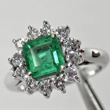 fine emerald rings images Natural aaa fine colombian emerald diamond cocktail ring white jpg
