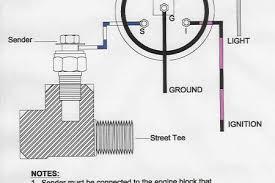 water temperature gauge wiring diagram water temperature gauge