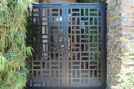 contemporary metal gate on sale decorative ornamental custom iron