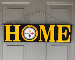 steelers home decor steelers gifts etsy
