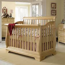 Sleigh Bed Crib Mix And Match Built To Grow Convertible Sleigh Crib