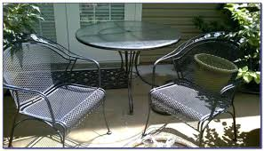 Wrought Iron Patio Furniture Vintage Used Wrought Iron Patio Chairs White Wrought Iron Patio Table And