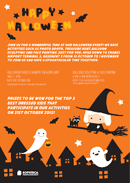 halloween block party flyer template google search halloween
