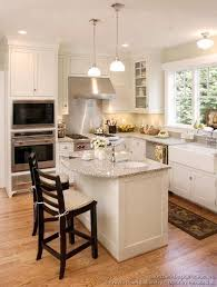 small islands for kitchens a small l shaped kitchen with eye level oven kitchen ideas