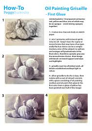 how to oil painting grisaille first glaze arts grisalle