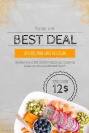 restaurant flyer templates postermywall