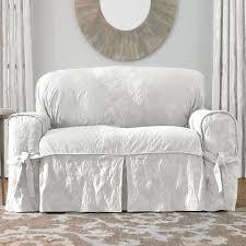 Shabby Chic Slipcovered Sofa How To Measure For Sofa Slipcovers Centerfieldbar Com