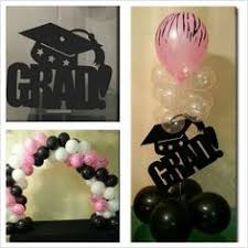 balloon arrangements for graduation graduation balloon decoration my creations
