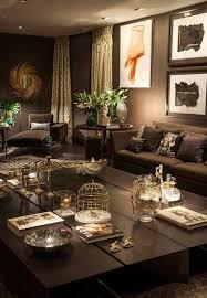 brown livingroom brown living room ideas for home decoration