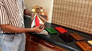 modular kitchen indian context shutters doors draw facia