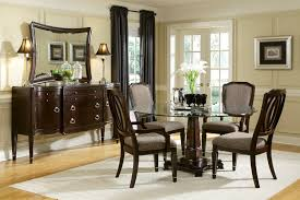 dining room glass top table and chairs simple decor on with