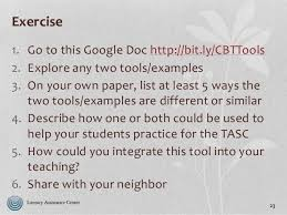 computer skills for the tasc