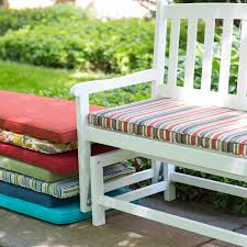 Wicker Settee Replacement Cushions by Coral Coast Classic 43 X 14 In Outdoor Cushion For Porch Swings
