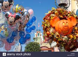 halloween at disney world resort balloons decorations pumpkin