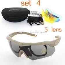 2017 3 lens soldiers tactics polarized sunglasses ess crossbow