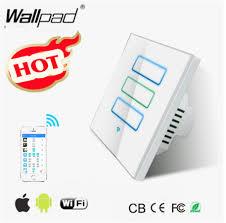 2 dimmer switches one light wallpad white wifi dimmer light switch eu uk 110 220v 3 gang 2 4 ghz