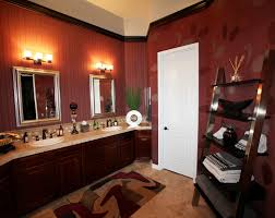 Red Powder Room Powder Rooms With Panache Decorating Den Interiors Blog